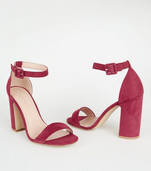 deep-pink-suedette-2-part-block-heels