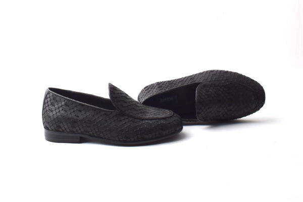 Buy Baku Leather Black Color Shoes Pakistan 2