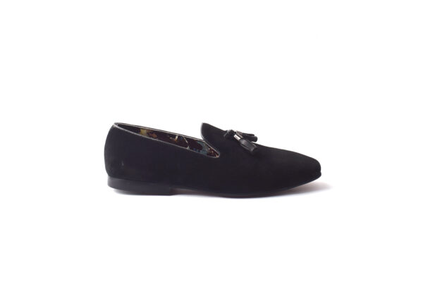 Buy Baku Sued Leather Black Color shoes in Pakistan 1