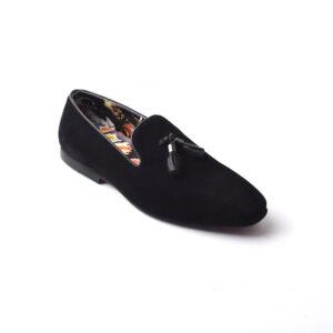 Buy Baku Sued Leather Black Color shoes in Pakistan 4