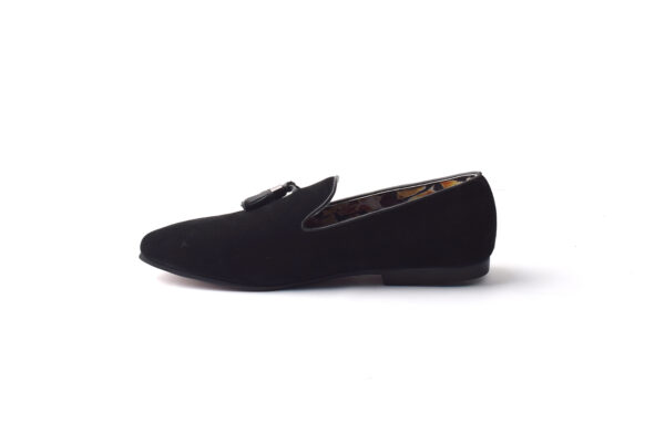 Buy Baku Sued Leather Black Color shoes in Pakistan 5