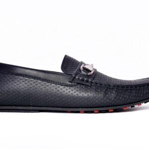 Buy Fill Pattern Methew Black Color Shoes In Pakistan 1