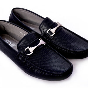 Buy Fill Pattern Methew Black Color Shoes In Pakistan 4