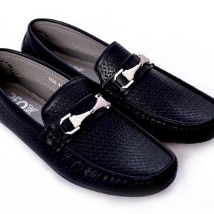 Buy Fill Pattern Methew Black Color Shoes In Pakistan 4