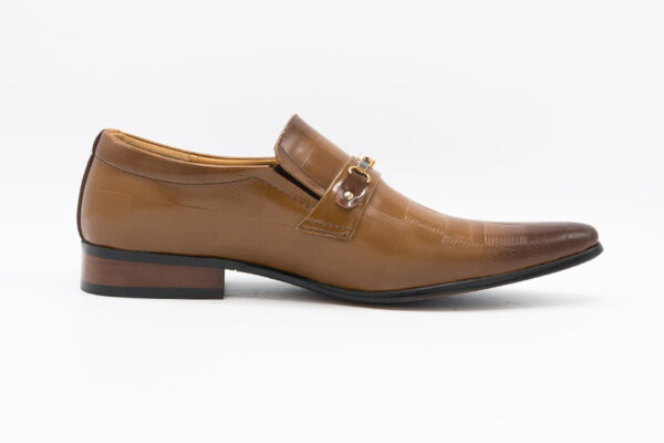 Buy Light Brown Synthetic Leather Tokyo Shoes In Pakistan1