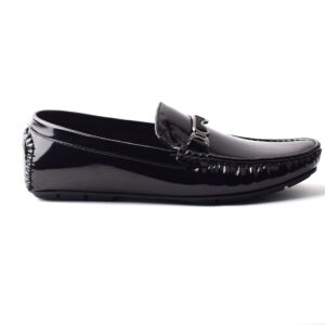 Buy Methew Synthetic Painted leather Black Color Shoes Pakistan 1
