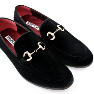 Buy Sultan Black Color Shoes For Men 2