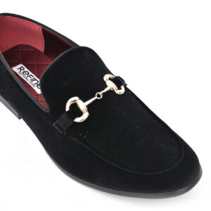 Buy Sultan Black Color Shoes For Men 3