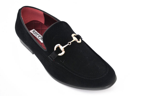 Buy Sultan Black Color Shoes For Men 3