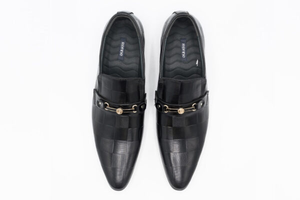 Buy Tokyo Synthetic Leather Black Color Shoes In Pakistan 2