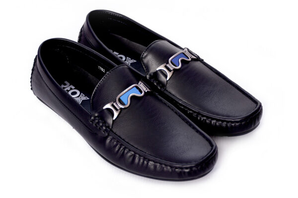 METHEW Black Color Casual Shoes In Pakistan 3