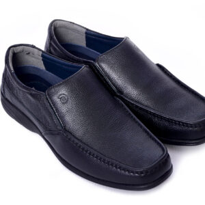 ROGER Black Color Men Casual Shoes In Pakistan 3
