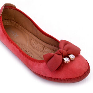Aleeza Wc008 Red Color Beautiful Shoes 2