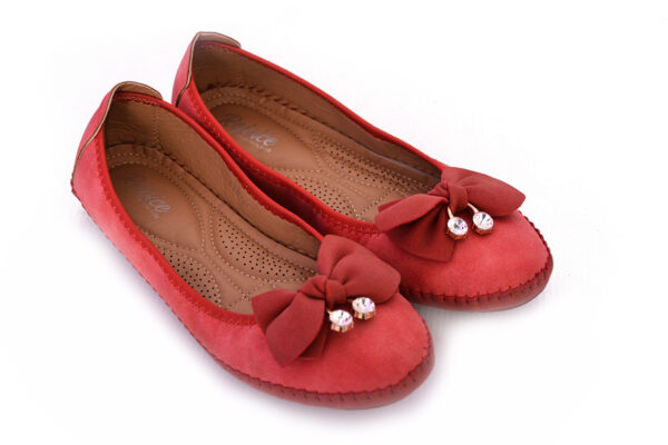 Aleeza Wc008 Red Color Beautiful Shoes 3