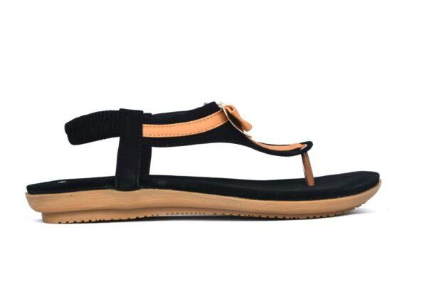 Beautiful Angela Ls009 Black Color Shoes 1