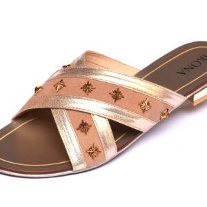 Beautiful IKona Sw004 Beige Color Shoes
