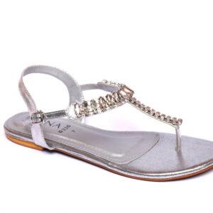 Beautiful Ikona 010 Silver Color Shoes