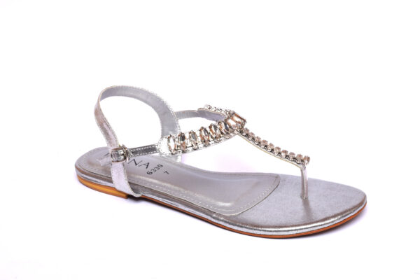 Beautiful Ikona 010 Silver Color Shoes