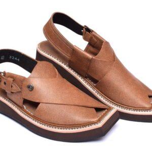 Brown Color Kaptaan Chappal