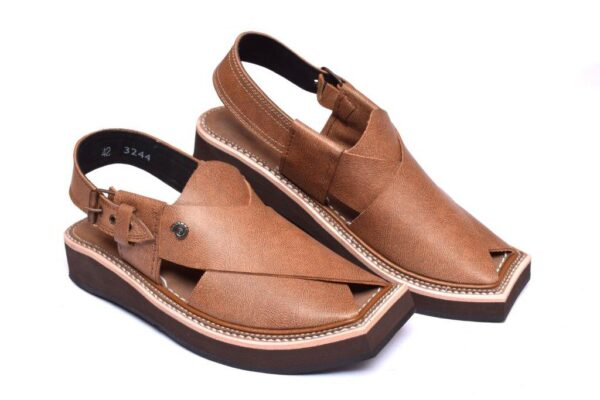Brown Color Kaptaan Chappal
