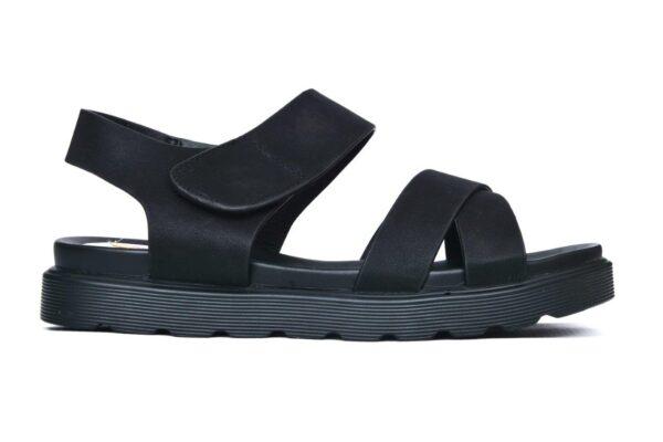 Buy Aleeza Ls010 Black Color Shoes 1