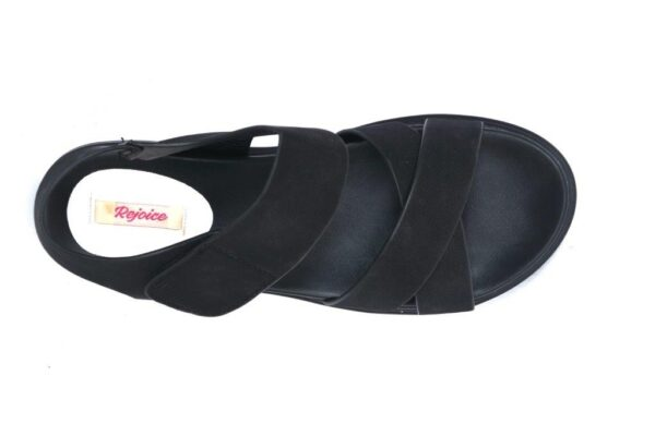 Buy Aleeza Ls010 Black Color Shoes 4