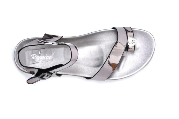 Buy Beautiful Angela Ls005 Grey Color Shoes 3