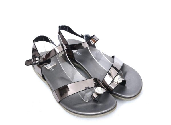Buy Beautiful Angela Ls005 Grey Color Shoes 4