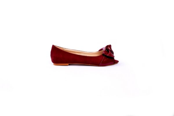 Buy Beautiful Cat Maron Color Heel Shoes 2