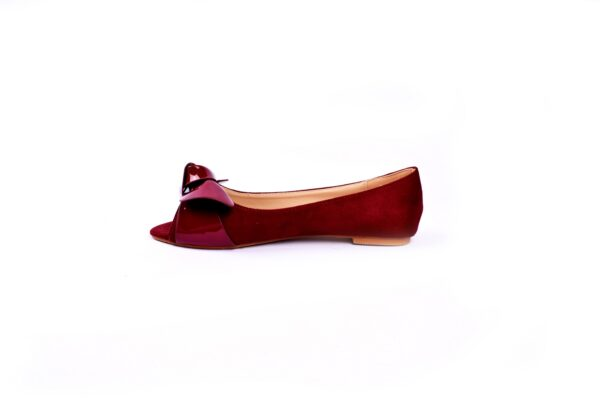 Buy Beautiful Cat Maron Color Heel Shoes 3