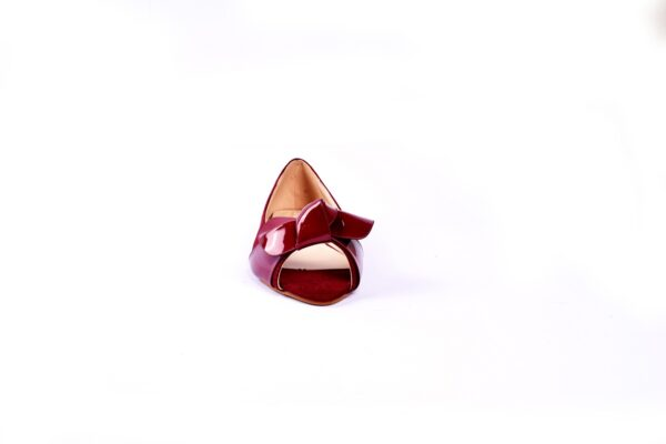 Buy Beautiful Cat Maron Color Heel Shoes 4