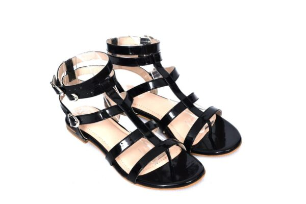 Buy Beautiful Season Ls004 Black Color Shoes 2
