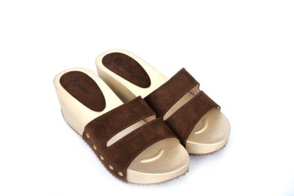 Buy Beautiful Season Sw012 Brown Color Shoes 2