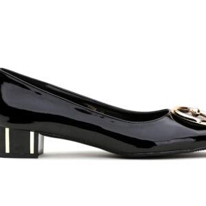 Buy Black Color Queen Heel Shoes 1