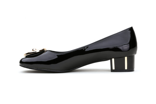 Buy Black Color Queen Heel Shoes 3