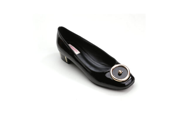 Buy Black Color Queen Heel Shoes 4