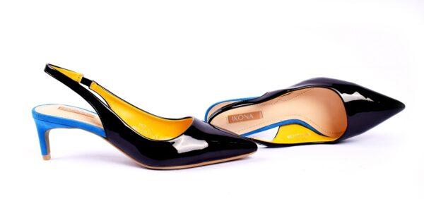 Buy Cat 001 Heel Golden Color Shoes in Pakistan 1
