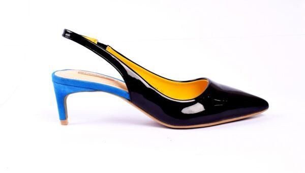 Buy Cat 001 Heel Golden Color Shoes in Pakistan 2