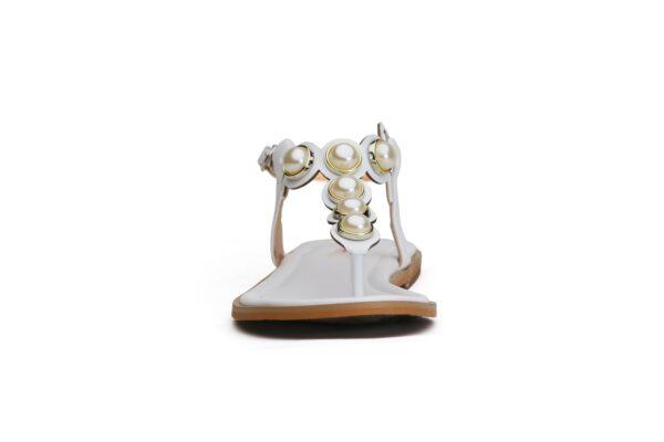 Buy Ghazal Ls011 White Color Shoes 2