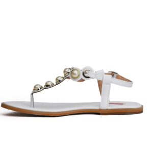 Buy Ghazal Ls011 White Color Shoes 3