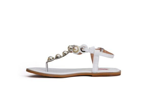Buy Ghazal Ls011 White Color Shoes 3