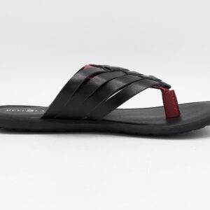 Buy Greeko Black Color Slipper Shoes