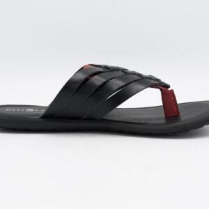 Buy Greeko Black Color Slipper Shoes