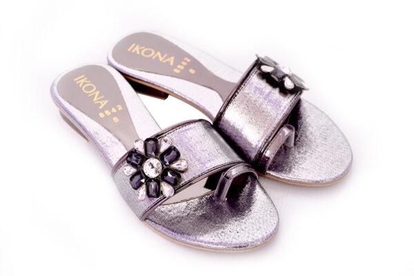 Buy Ikona Sw010 Grey Color Shoes 2
