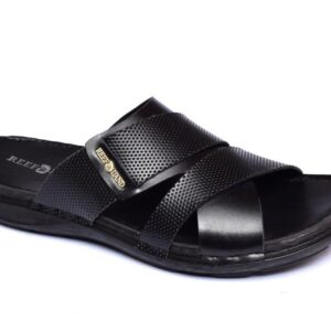 Buy Luxor Black Color Slipper 1