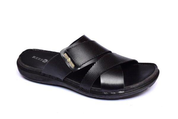 Buy Luxor Black Color Slipper 1