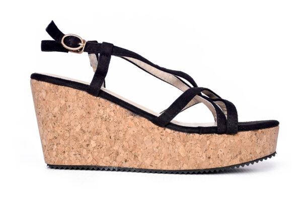 Buy Oslo Ls001 Black Color Shoes 1