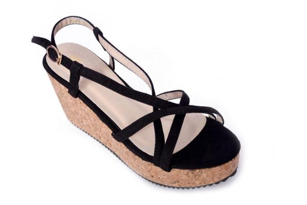 Buy Oslo Ls001 Black Color Shoes 2