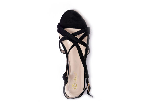 Buy Oslo Ls001 Black Color Shoes 3