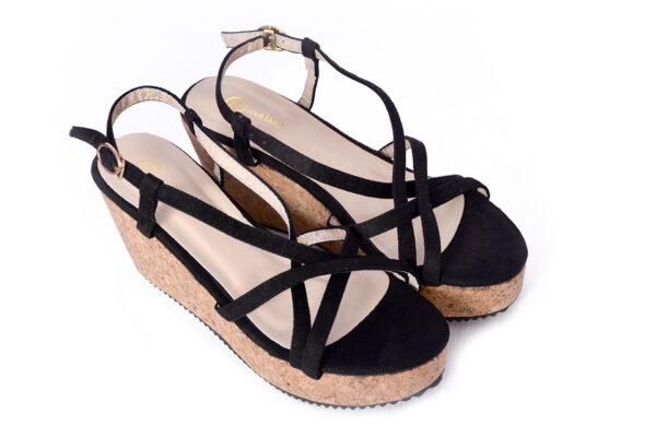 Buy Oslo Ls001 Black Color Shoes 4
